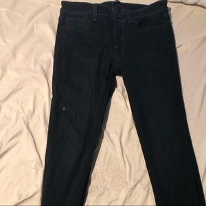 Joes skinny black jeans